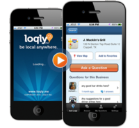 Get the free Loqly iPhone app