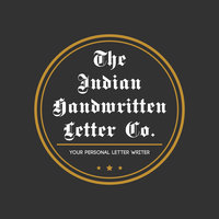 Avatar for The Indian Handwritten Letter Co.